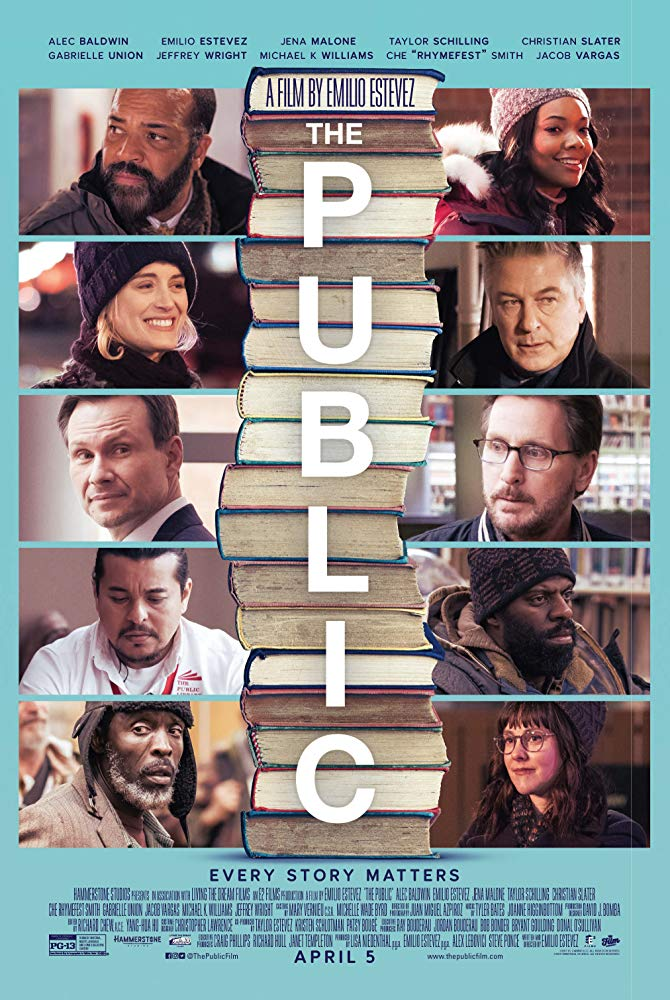 The Public (2019)  Movie Review 